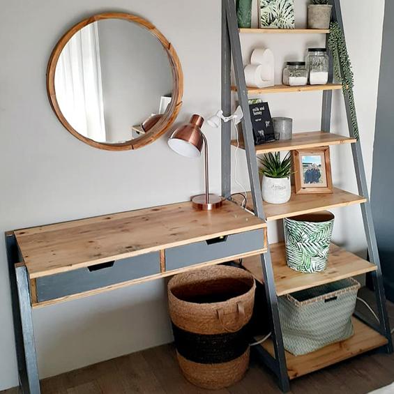 Desk-Ladder-combo