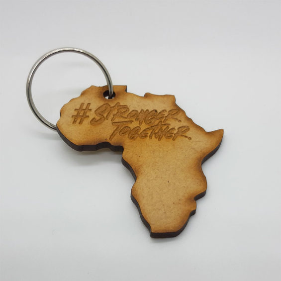 Stronger Together Keyring